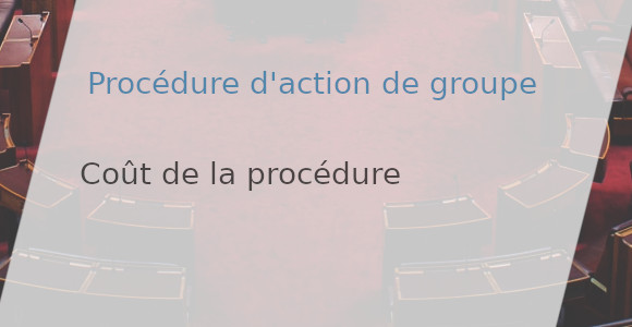cout procédure action groupe