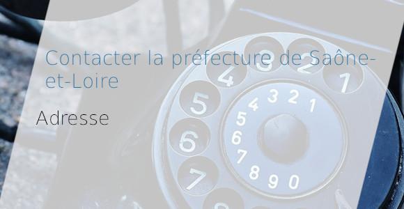 adresse préfecture Saône-et-Loire