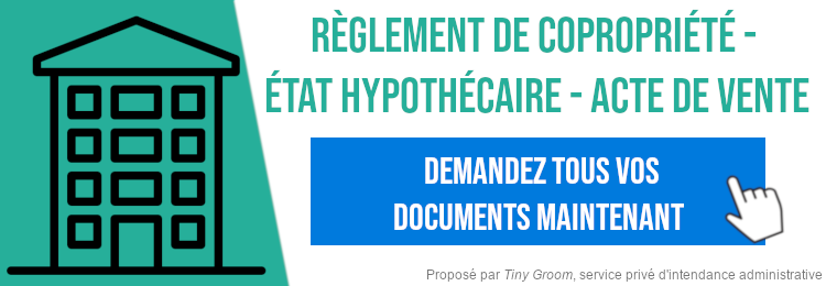 Demande documents immobilier