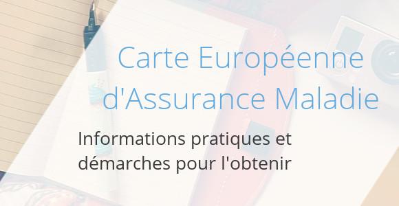carte europeenne assurance maladie
