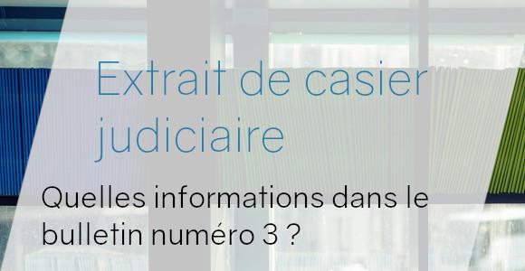 contenu casier judiciaire 3