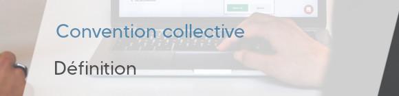 définition convention collective
