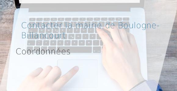 coordonnées mairie Boulogne-Billancourt