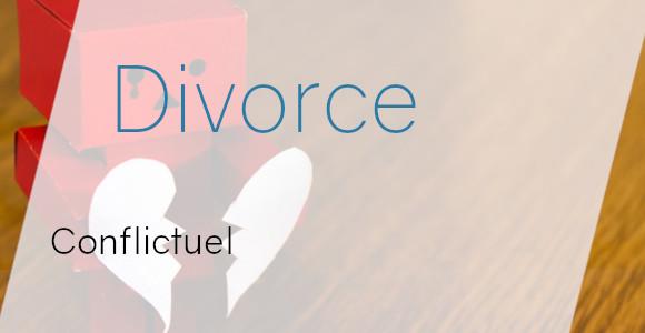 divorce conflictuel