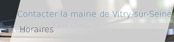 horaires mairie Vitry-sur-Seine