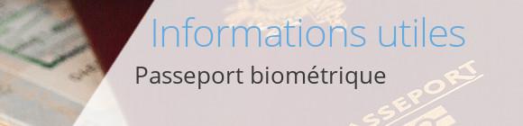infos passeport biométrique