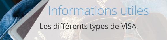 infos types visa
