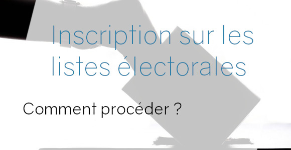 inscription élections