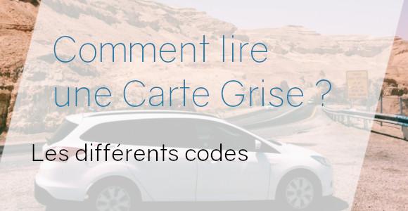 lire carte grise codes