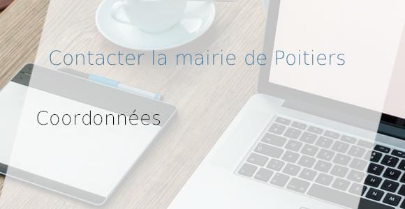 coordonnées mairie Poitiers