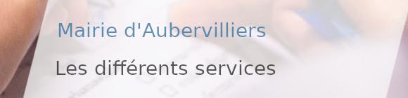 services mairie aubervilliers