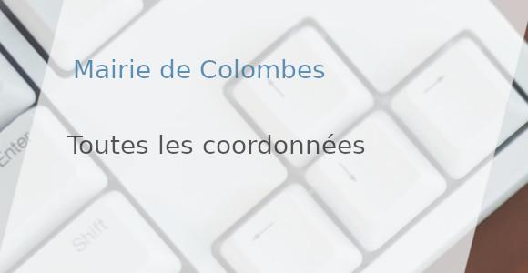 coordonnées mairie colombes