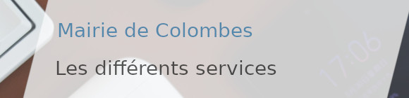 services mairie colombes