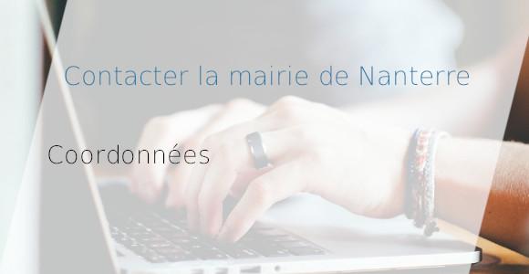 coordonnées mairie Nanterre