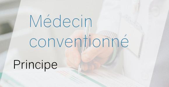 médecin conventionné principe