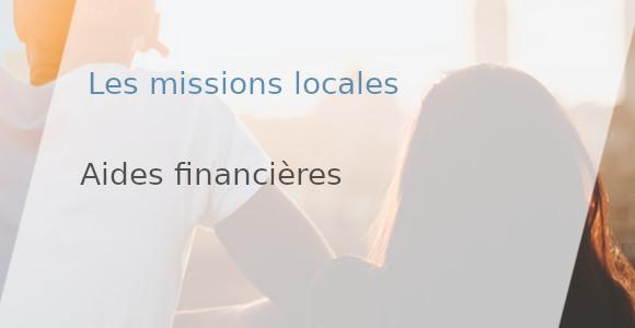 aides financières mission locale