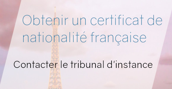 certificat nationalité tribunal insance