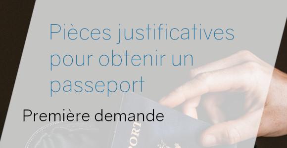 pièces premier passeport