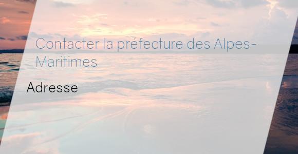 préfecture alpes-maritimes adresse