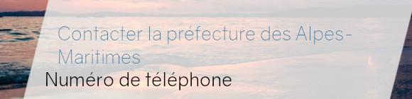 préfecture alpes-maritimes téléphone