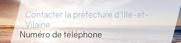 préfecture Ille-et-Vilaine téléphone