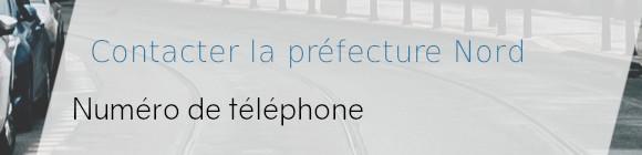 téléphone prefecture nord