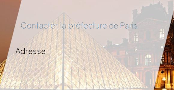 préfecture paris adresse