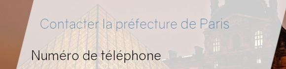 préfecture paris téléphone