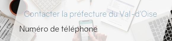préfecture val d'oise téléphone
