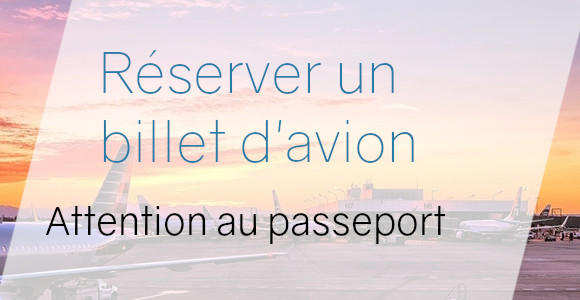 billet avion passeport