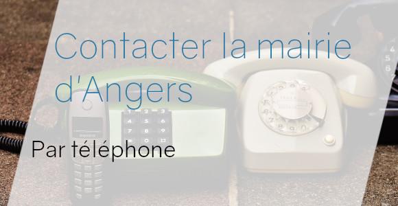 téléphone mairie angers