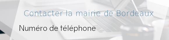 téléphone mairie bordeaux