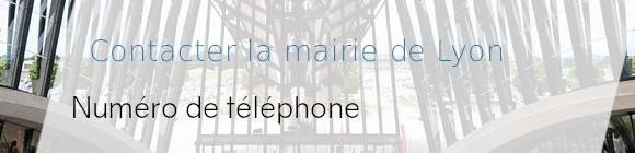 téléphone mairie lyon