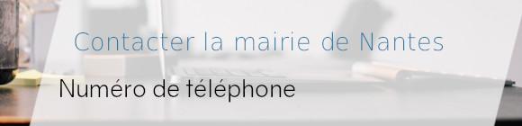 téléphone mairie nantes