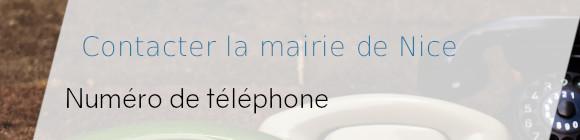 téléphone mairie nice