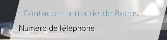 téléphone mairie reims