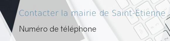 Saint-Étienne mairie téléphone