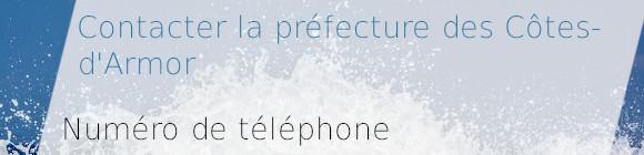 téléphone préfecture côtes-d'armor