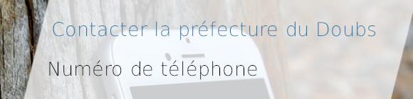téléphone préfecture doubs