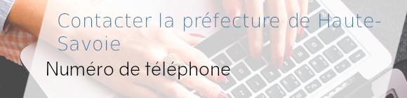téléphone préfecture haute-savoie
