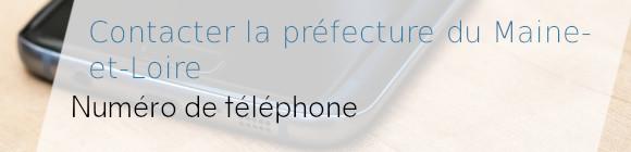 téléphone préfecture maine-et-loire
