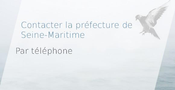 contact préfecture seine-maritime téléphone