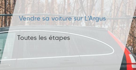 étapes vente voiture l'argus